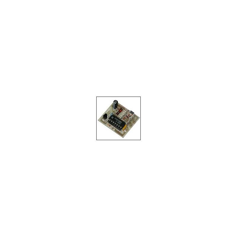 Kit para montar una Señal acústica de aviso de baterías descargadas