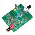 Kit para montar una tarjeta para recibir señales de sonido/video de TV