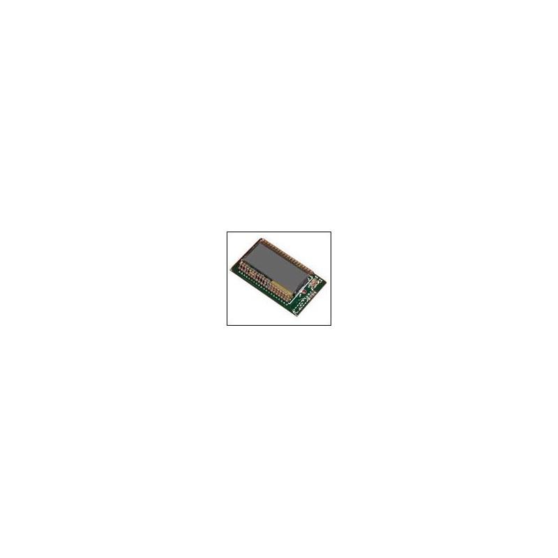 Kit para montar un Voltímetro de 3 cifras y media LCD de 200mV a 200V