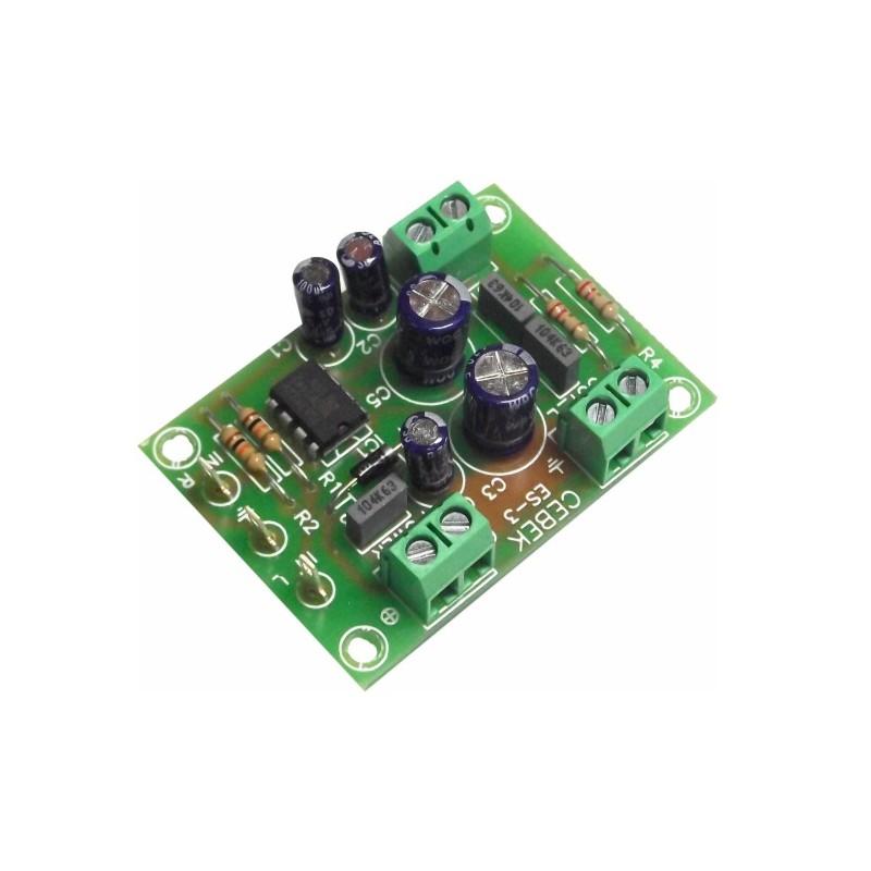Amplificador 500 mW estéreo 2 canales