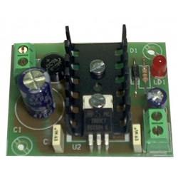 Fuente de alimentación lineal 9V 300mA (fuente+transformador)