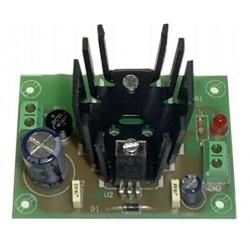 Fuente de alimentación lineal 12V 800mA (fuente + transformador)