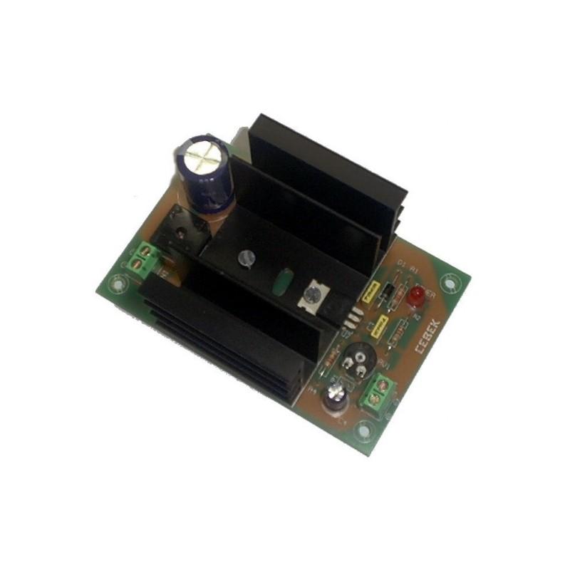 Fuente de alimentación lineal 12V 1,5A (fuente+transformador)