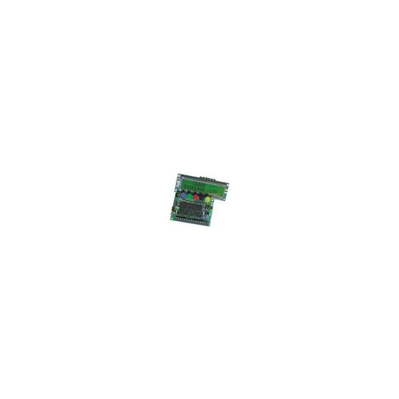 Displays LCD programables mediante teclado 15 mensajes