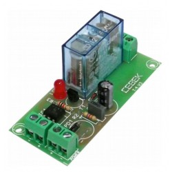 Interface optocoplados a 1 relé 12VCC 1 contacto