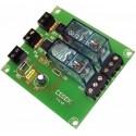 Interface optocoplados a 2 relés 12VCC 1 contacto