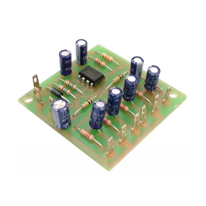 Mezclador audio mono de 4 canales