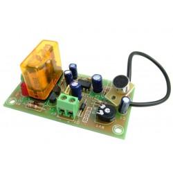 Detector audio con micrófono incluido.Vox control 12VCC