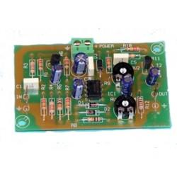 Preamplificación guitarra eléctrica estéreo 2 canal