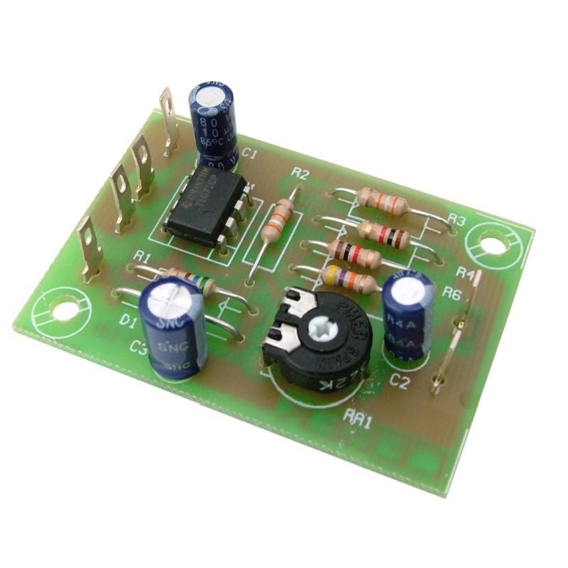 Preamplificación micrófono baja impedancia