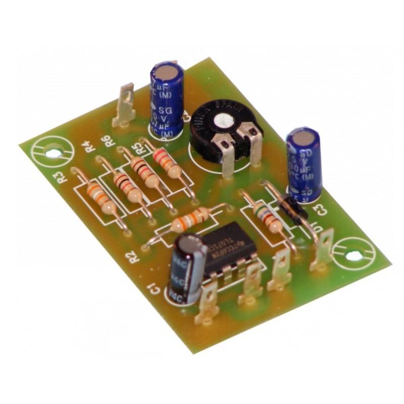 Preamplificación guitarra eléctrica mono 1 canal