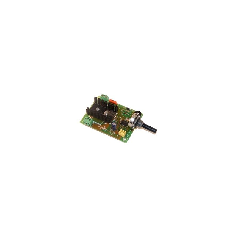 Regulador CC velocidad 1,5A 6/16V CC