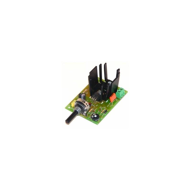 Regulador CC velocidad 3A 6/16V CC