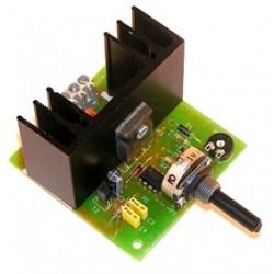 Regulador CC velocidad 6A 18/24V CC
