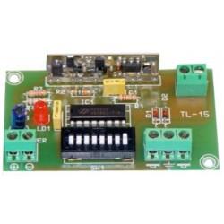 Emisor industrial R.F. 1 canal cuadro eléctrico 100 m