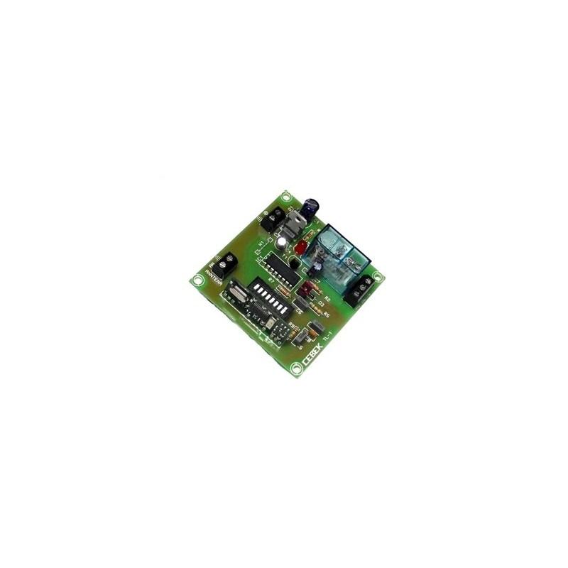 Telemando Receptor R.F.1 canal monoestable 12 V CC