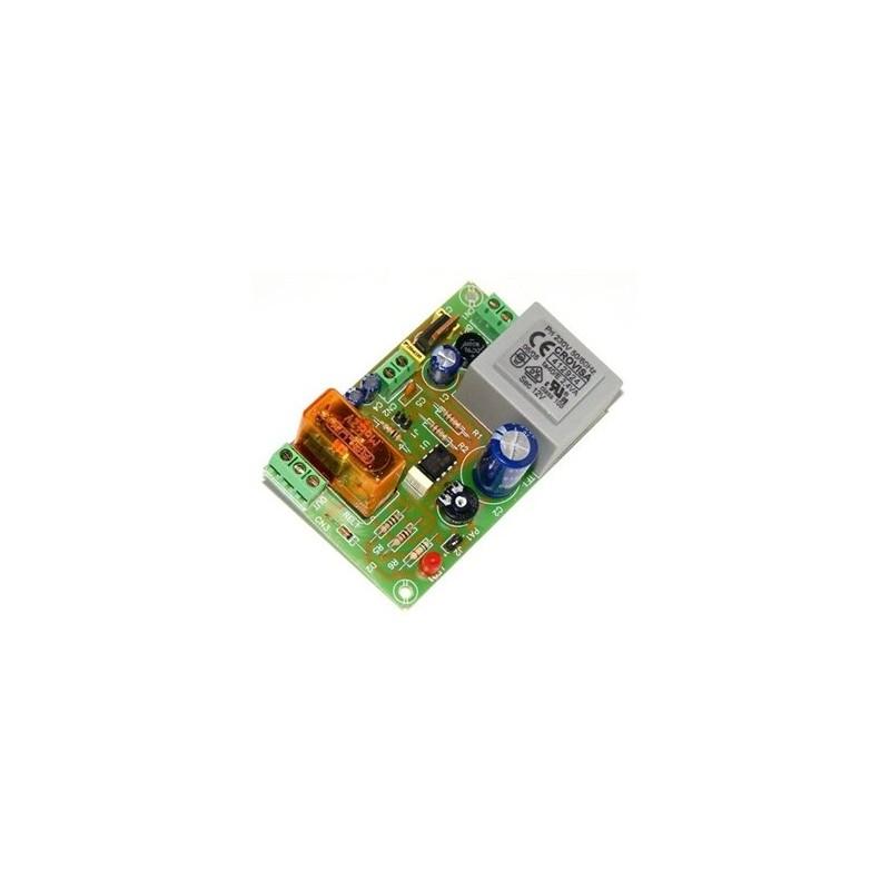 Temporizador universal a 12 V de 1 segundo a 3 minutos