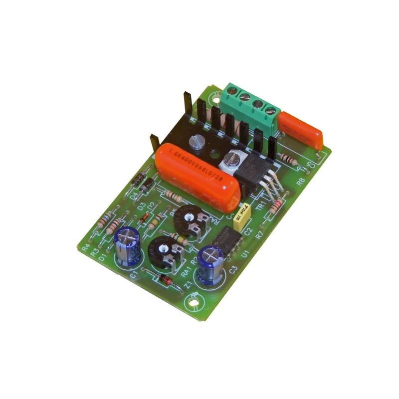 Temporizador cíclico 230 VCA a triac 50 seg a 3 minutos
