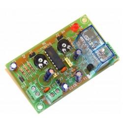 Temporizador retardador 1 segundo hasta 3 min. 12VCC