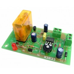 Temporizador desconexión 1 seg. 3 min. 12VCC