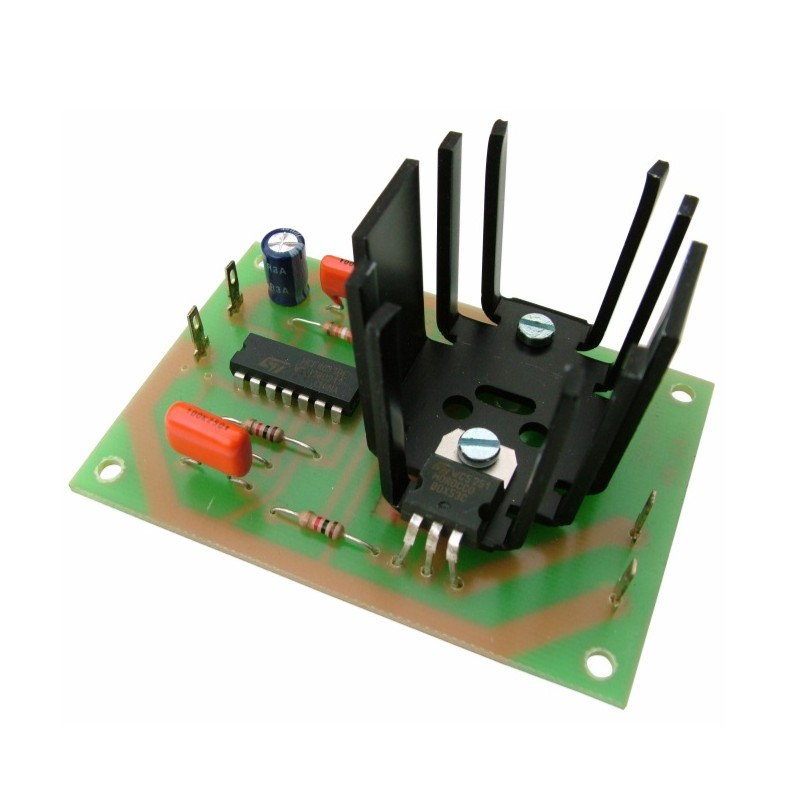 Sirena electrónica p/altavoz de alarma