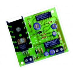 Alarma para vehículos con salida a transistor