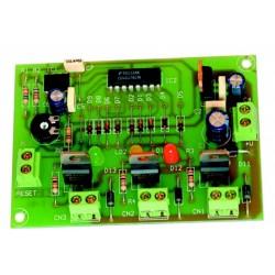 Semáforo 3 salidas a transistor