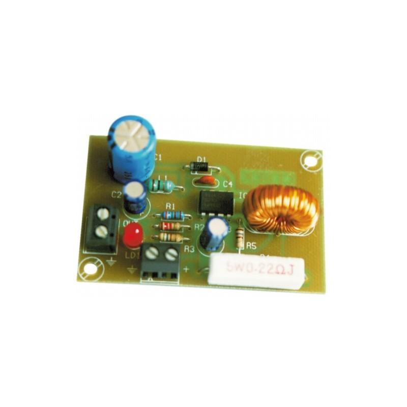 Convertidor Elevador DC-DC salida 15VDC 175mA
