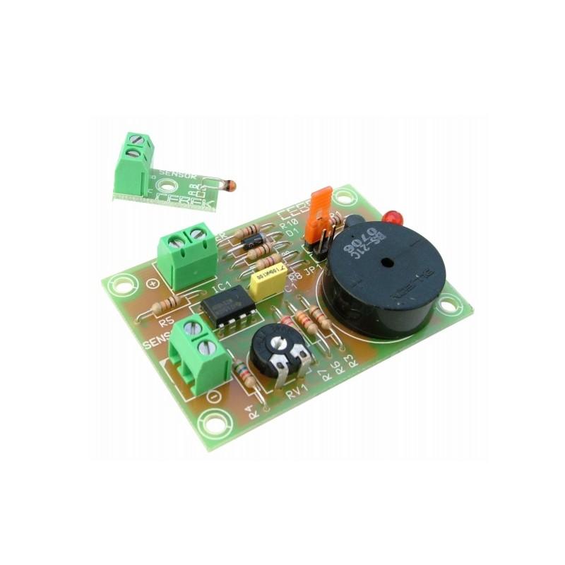 Alarma acústica de temperatura 12VCC