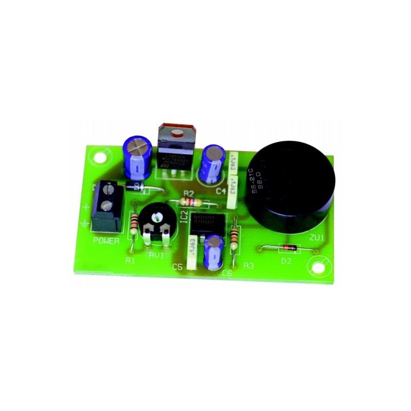 Detector de bajada de tensión 7-18 VCC