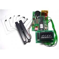 Control de acceso para 1999 tarjetas magnéticas