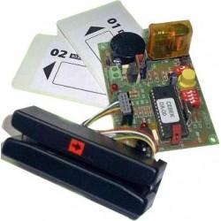 Control de accesos por tarjetas magnéticas