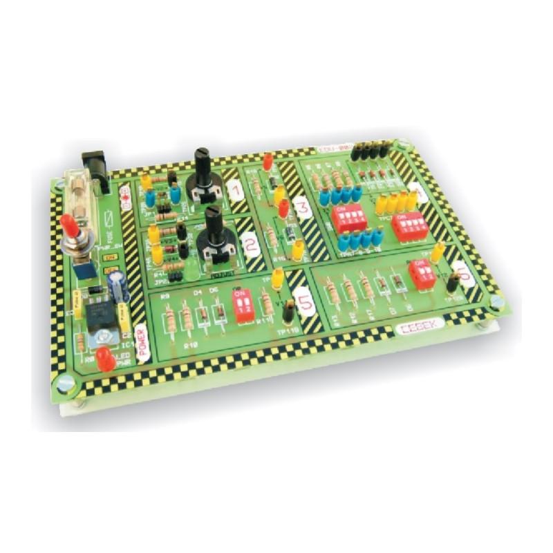 Módulo educacional de diodos y zeners