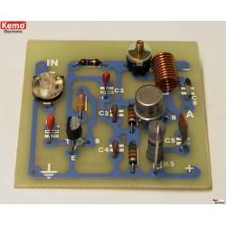 Oscilador de 27 MHz 6W [kit para montar]