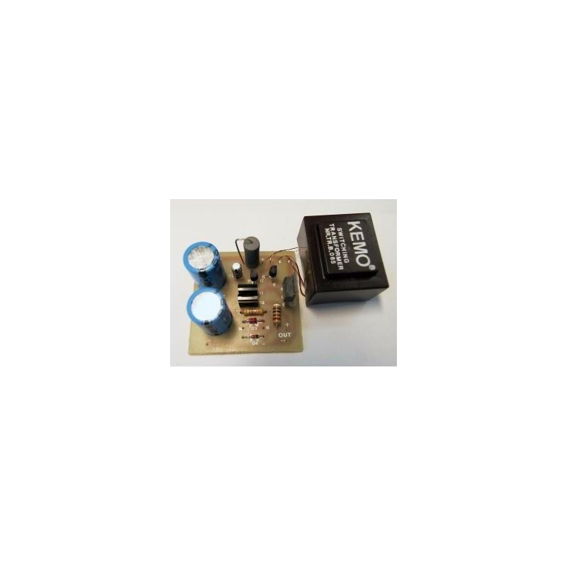Transformador de tensión entrada: 6..12V, salida 12..30V
