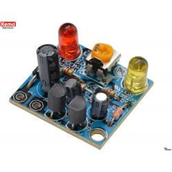 LED - luz intermitente alterna [kit para montar][B092]