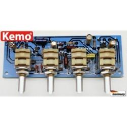 Regulador de sonido estéreo [B110]