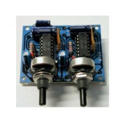 Amplificador 2 x 2,5W - kit para montar