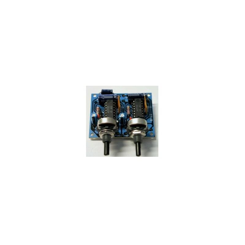 Stereo amplifier [B122]
