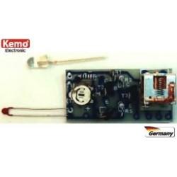 Kit combinado: Célula fotoeléctrica - Termostato - Interruptor - kit para montar