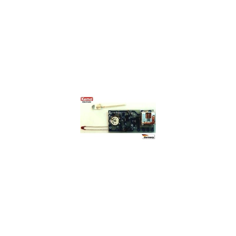 Kit combinado: Célula fotoeléctrica - Termostato - Interruptor(para montar)