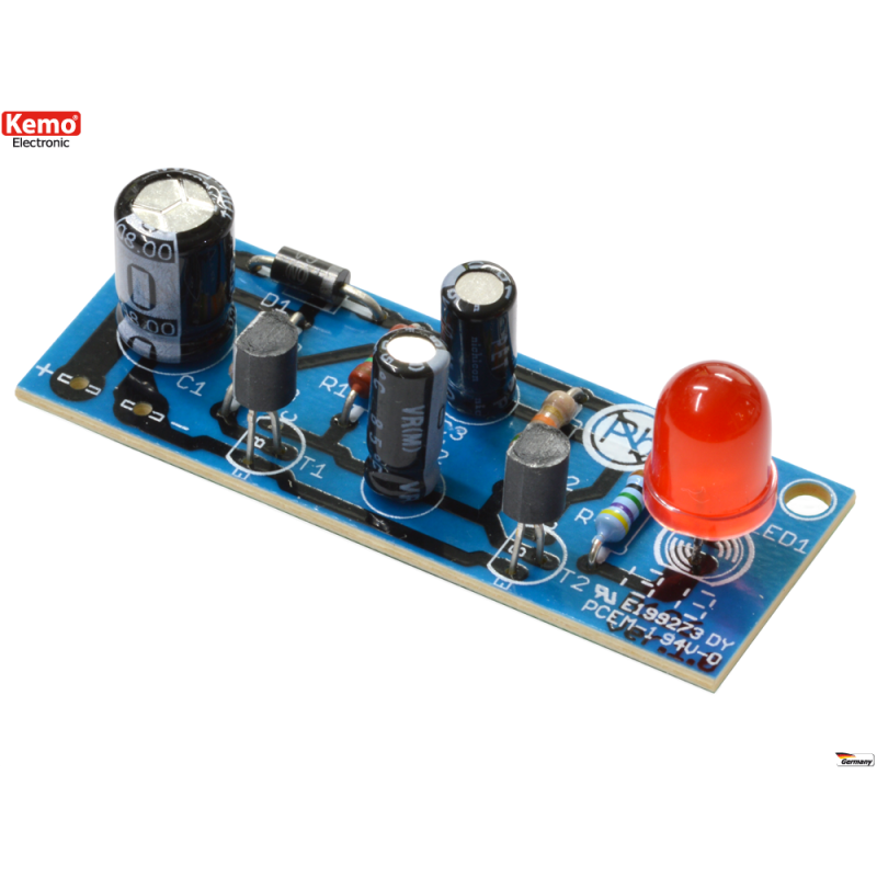 Luz intermitente LED - kit para montar