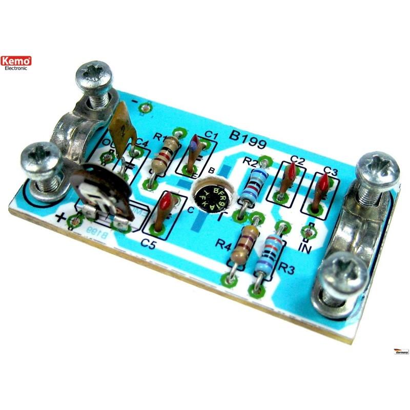 Amplificador de antena, aprox. 50-100 MHz [B199]