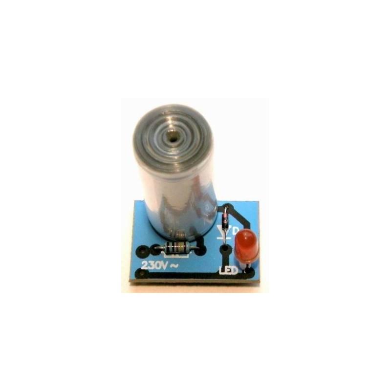 Luz de control, indicación de funcionamiento para aparatos de 230V