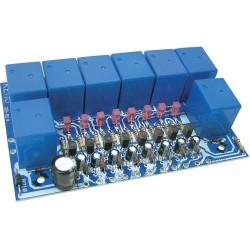 Placa de relé 8-canales - kit para montar