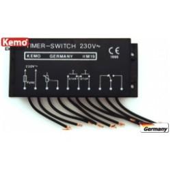 Interruptor de luz automático 230v.