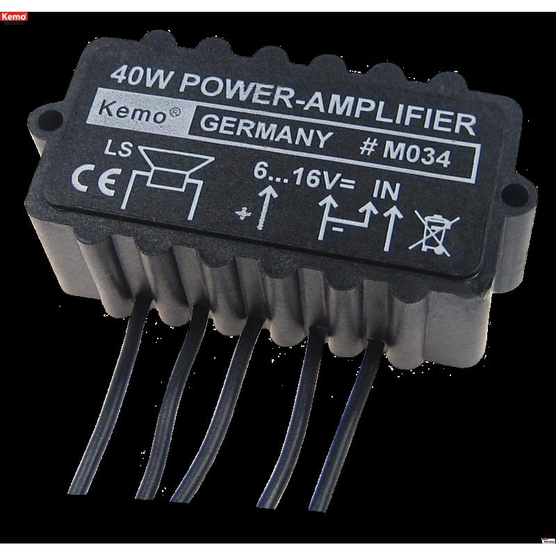 Amplificador universal 40W