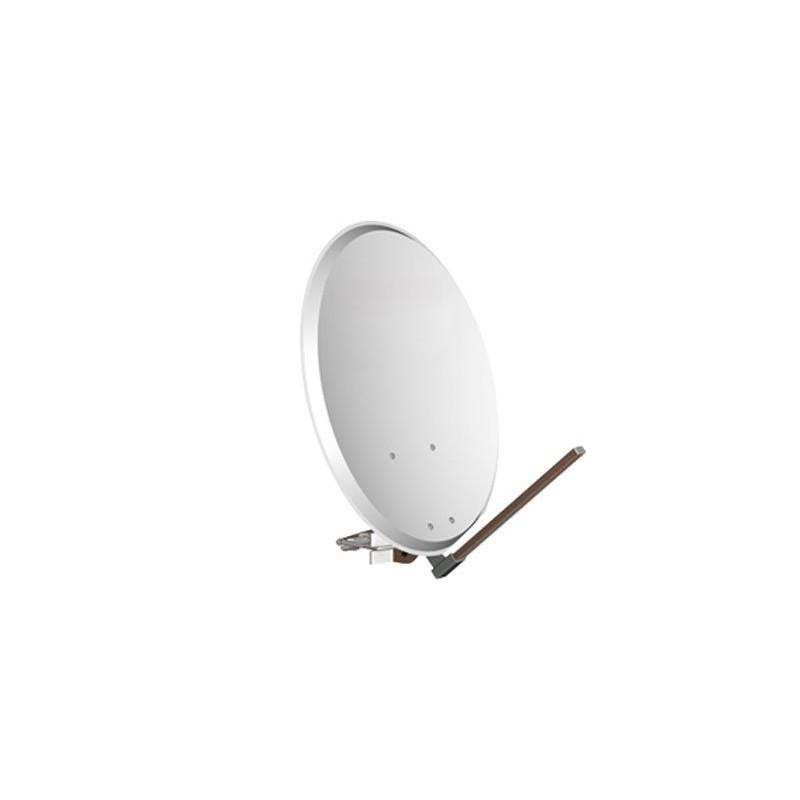 Antena parabólica 80 cm. Montura metalica