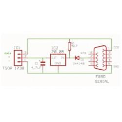 Revista Todoelectronica Nº40 + Kit electrónico Receptor de infrarrojos