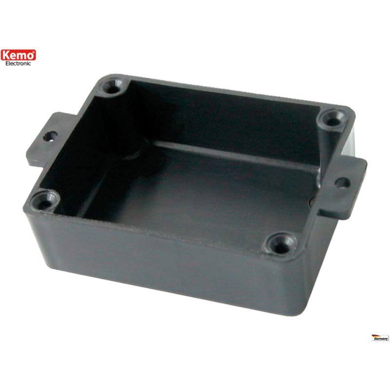 Caja para módulo electrónico, con orejas de fijación,  60*45*20mm